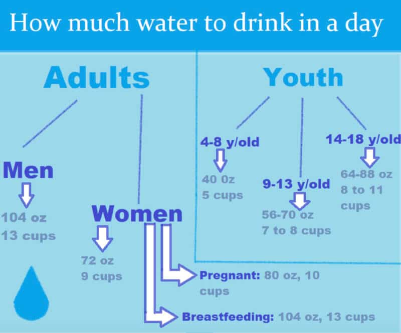 How much water should we drink daily