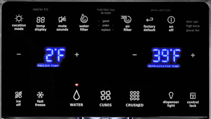 What is the best temperature for a refrigerator