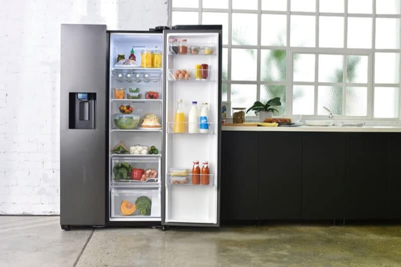 Samsung Side-by-Side Fridges