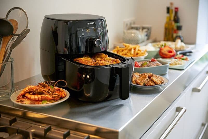 What foods do I use in an air fryer