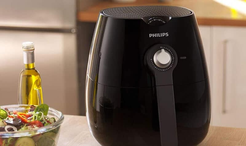 Which are the principal features of this Philips Air Fryer version