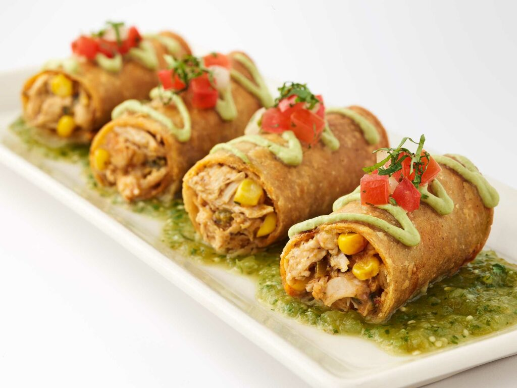 Chicken Taquitos at Cheesecake Factory
