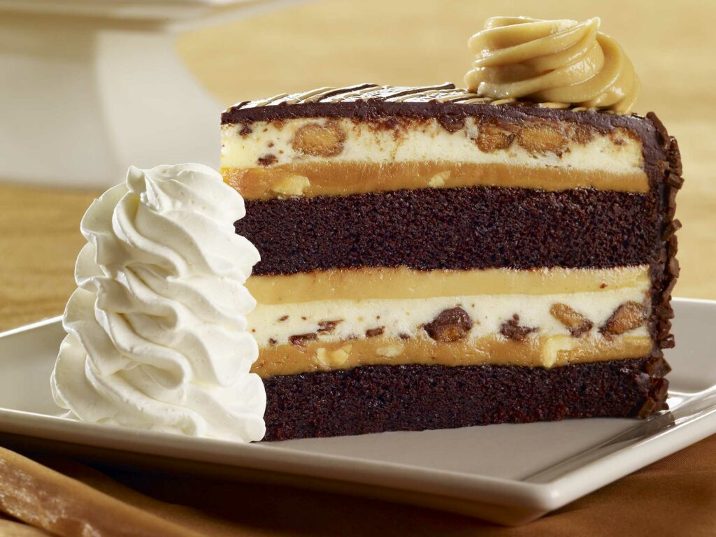 Reese's Peanut Butter Chocolate Cake Cheesecake at Cheesecake Factory