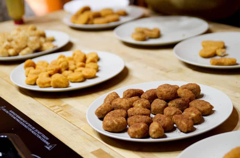 Are frozen chicken nuggets bad for you