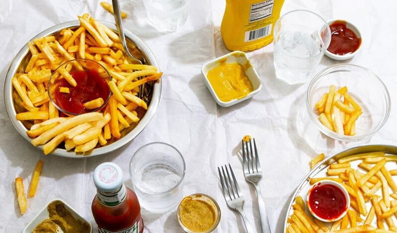 Are frozen fries healthier than fast-food fries
