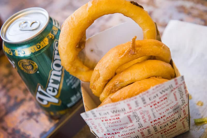 How Onion Rings Is Making