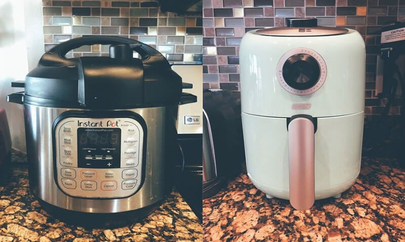 The Differences Are Air Fryer Vs Instant Pot