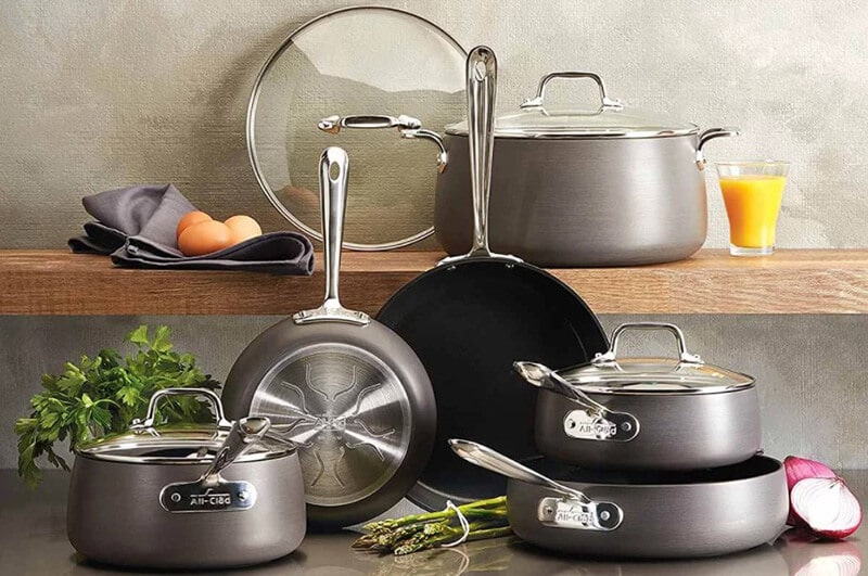 all clad cookware set best price