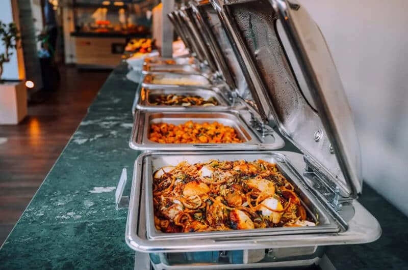 are roll top chafing dishes the best for catering