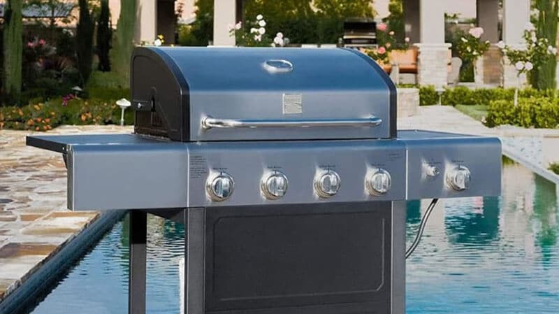 top cheap stainless steel 4-burner gas grill