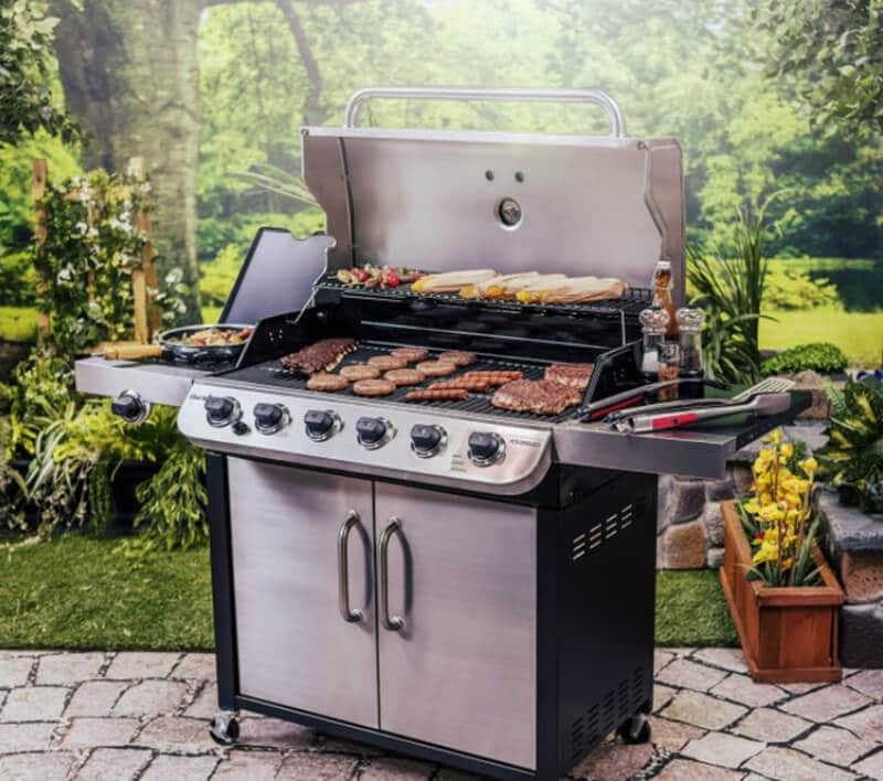 Top price on better homes and gardens 5-burner gas grill