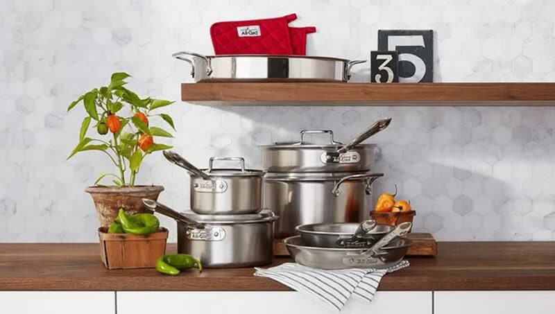 price all-clad cookware