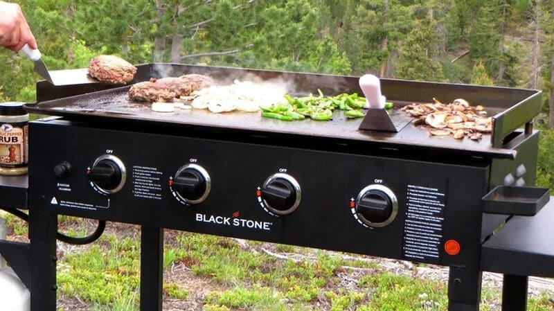 the 4 burner natural gas grill