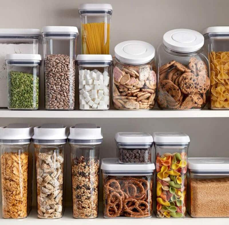 type of airtight pet food containers