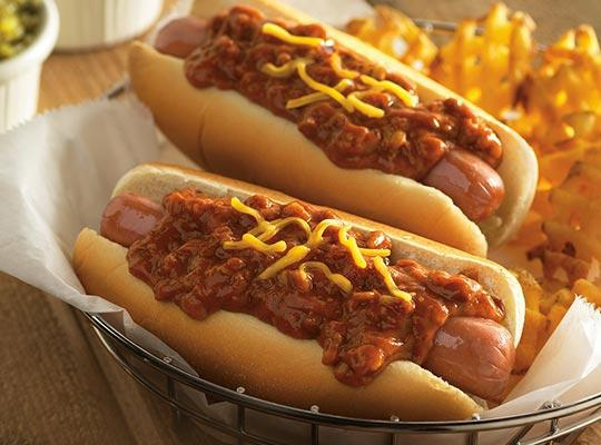 A great recipe to make using canned chili.